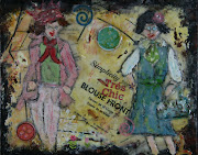 tres Chic-Vintage patter girls-sold