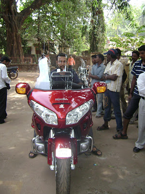 Honda Bike worth 25 lakhs
