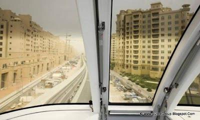 Palm Jumeirah Monorail, DubaiPalm Jumeirah Monorail, Dubai