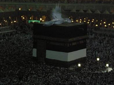 AN ANGEL OVER MECCA