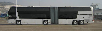 WORLD'S BIGGEST BUS Neoplan Jumbo -cruiser........2 in 1 bus....double deck bus......170 passenger capacity