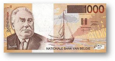 Duizend Frank National Bank Van BekGie