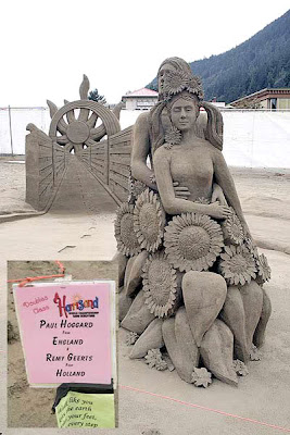 Sand Art By: IMRAN ALAM