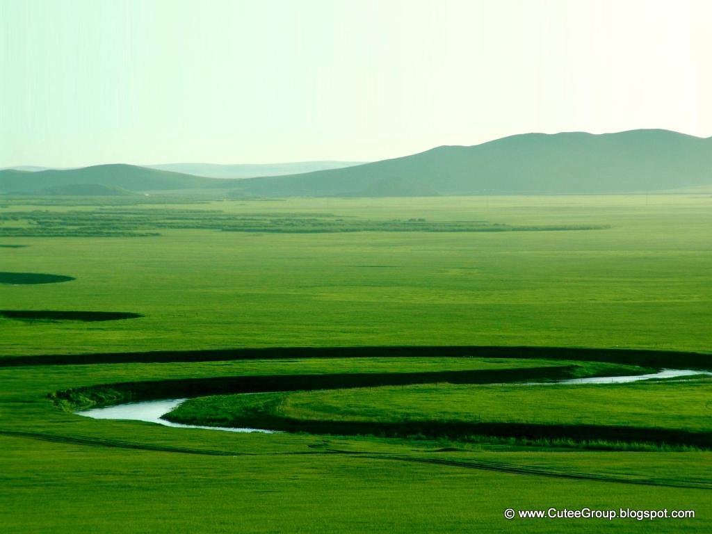 Beautiful Prairie Of Hulunbuir, China | The World Of Fun ...