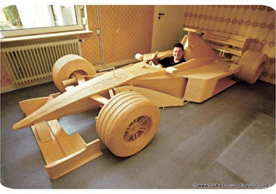 Car From 956,000 Matchsticks