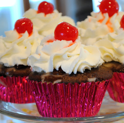 Chocolate Cherry Coke Cupcakes Chocolate Cherry Coke Cupcakes