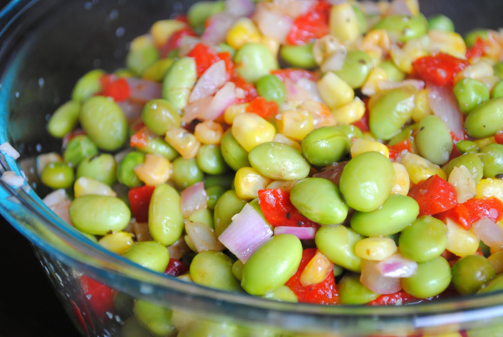 ... succotash spicy edamame succotash salad recipes dishmaps spicy edamame