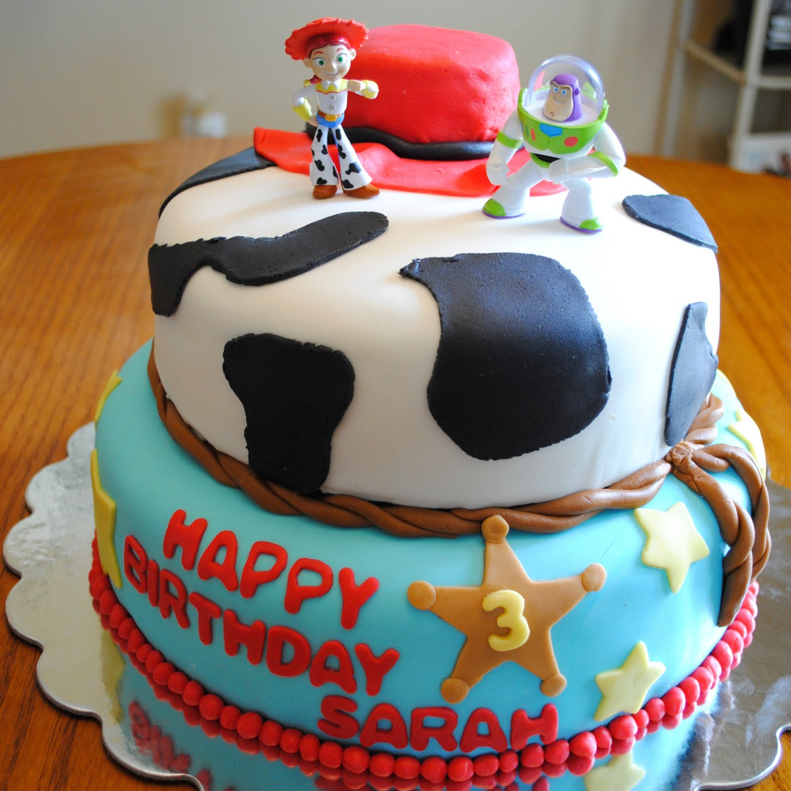 Homemade By Holman Fondant Toy Story Birthday Cake