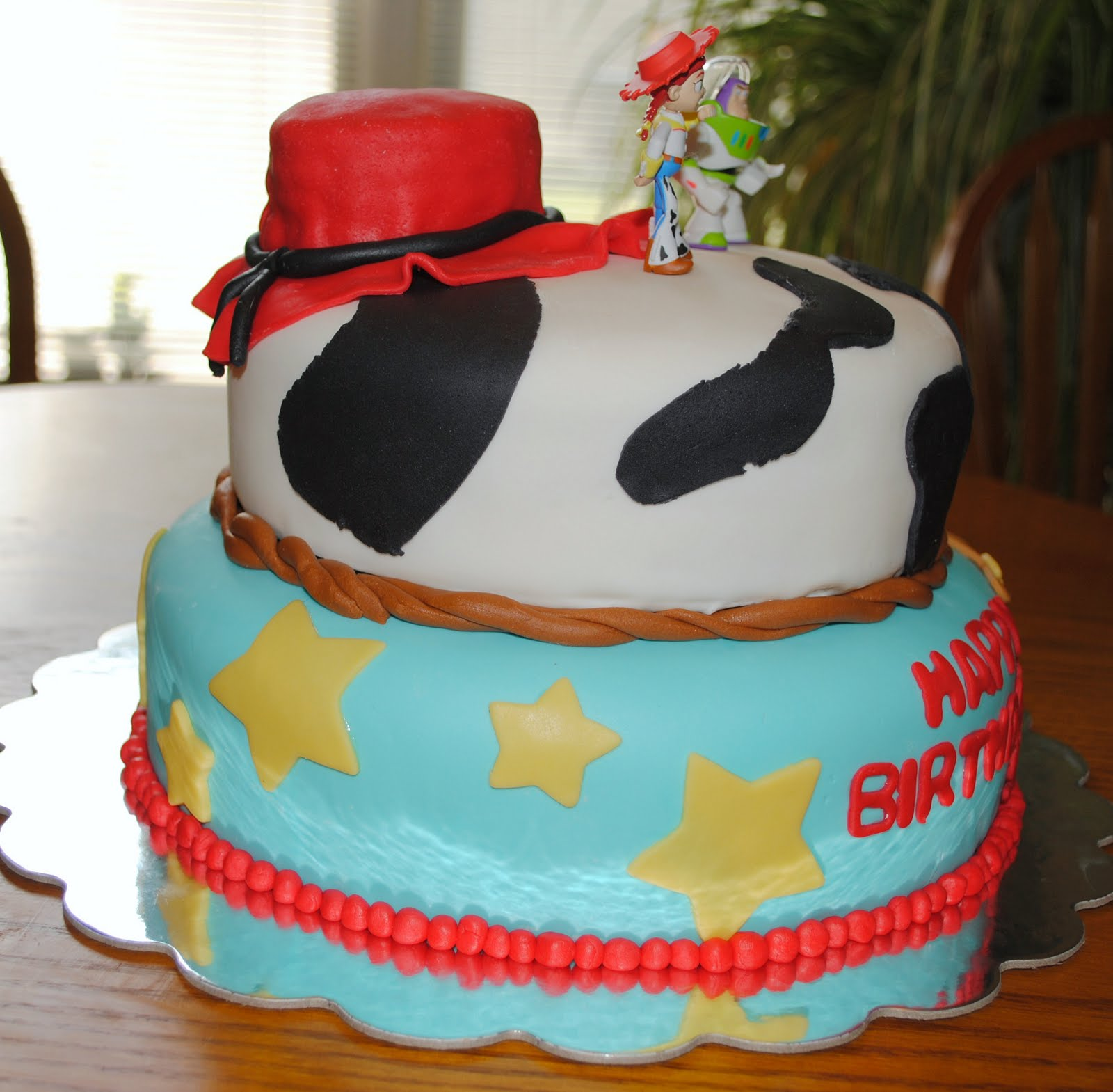Homemade By Holman: Fondant Toy Story Birthday Cake
