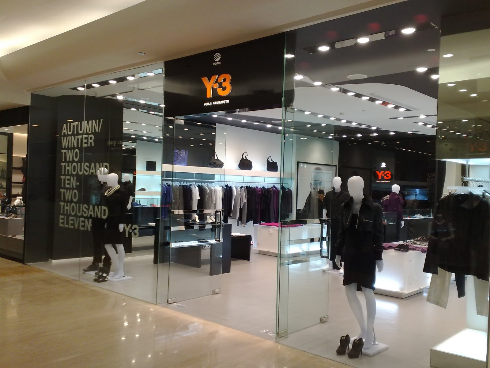 adidas y3 store