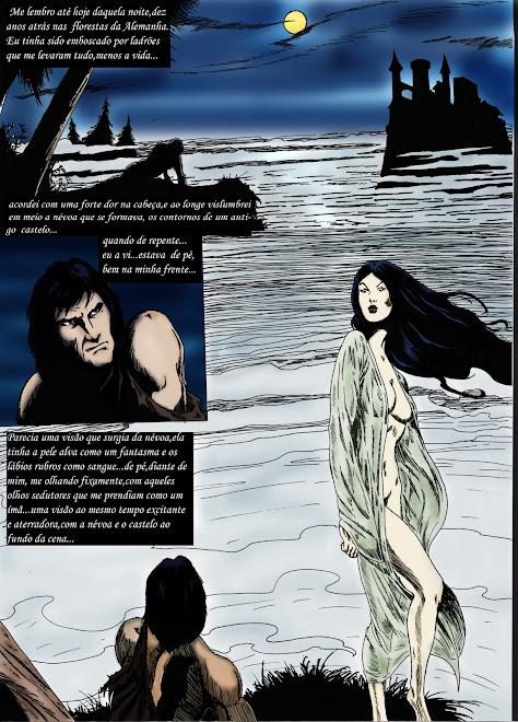 Página de uma historia de John Wilmot