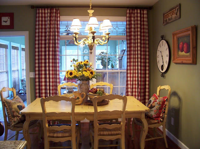 Window treatments on pinterest valances cafe curtains and arched window treatments - French country kitchen window treatments ...