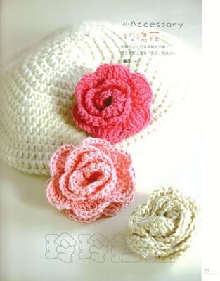 flor a crochet orquidea blanca