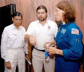 kalpana chawala father at nasa