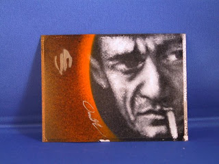 Johnny Cash postal sticker