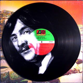 John Bonham - (i) inspired by photo by Dick Barnatt