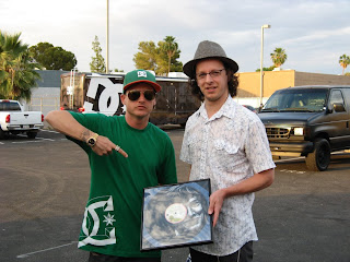 Rob Dyrdek and me - photo by Brittany Edlen