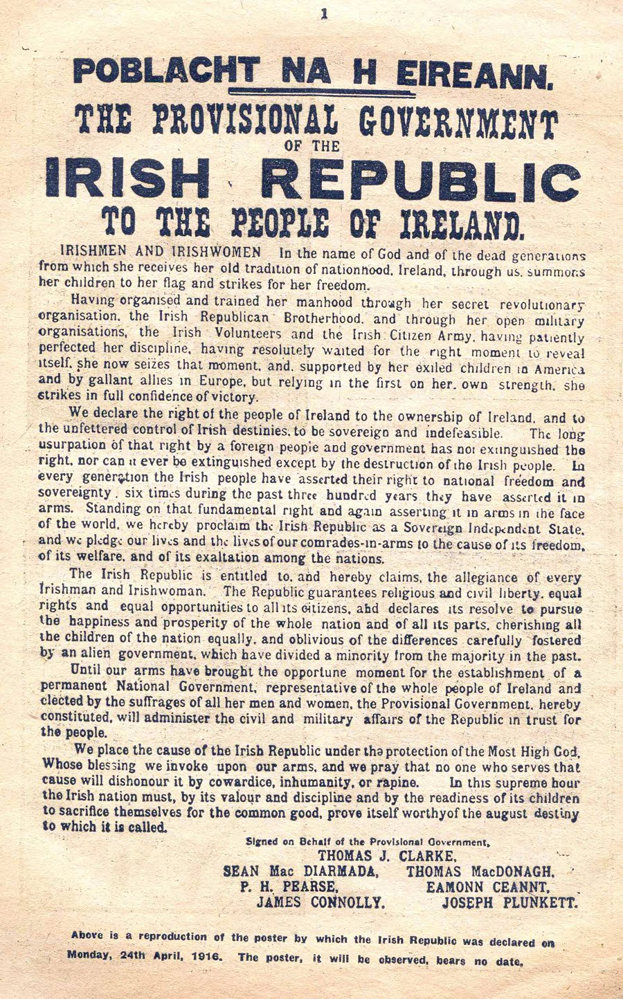 the irish easter rising of 1916 essay In this essay i will outline the consequences of the 1916 easter rising all short term long term and immediate the rising was a symptom of the failure of home rule.