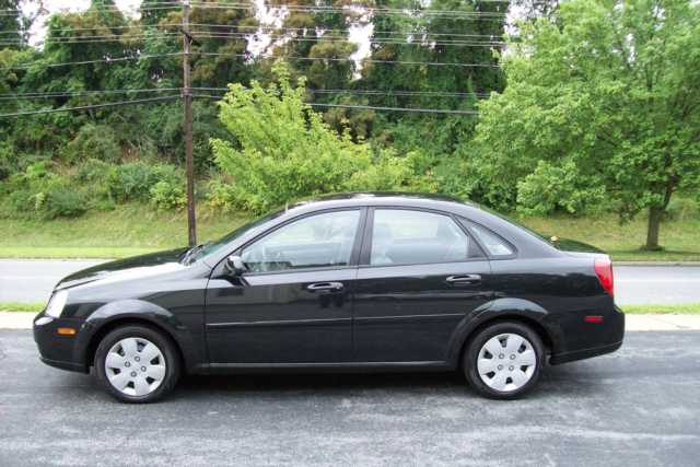 Investigators are searching for a black Suzuki Forenza with license plate