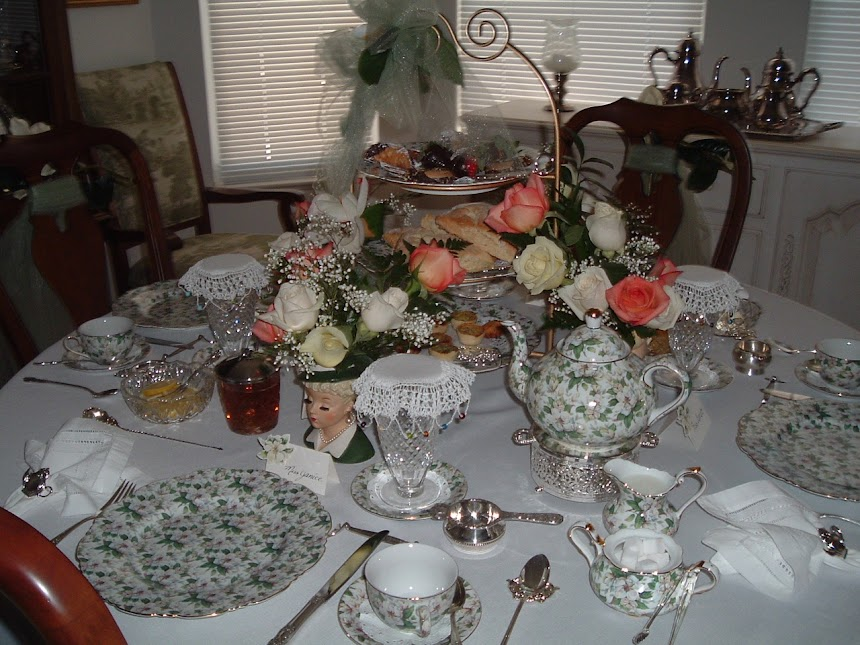 Afternoon Tea Tablescape