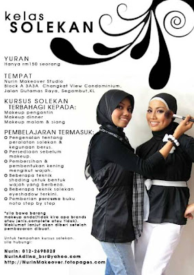 nurinmakeover brochure KAHWIN.....KAHWIN....KAHWIN