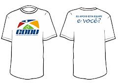 Adquira ja a sua camiseta e ajude o CDDU a manter seus projetos.
