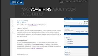 image Blog Templates Viluxus