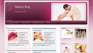 images Free Blogger Templates Beauty Blog | Free Download