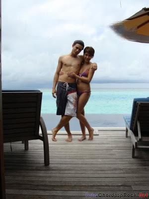 Foto Hot Bunga Citra Lestari (BCL) and Ashraf di Pantai Bali