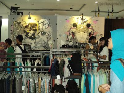 Clothing dan Distro di KICKFEST Yogyakarta