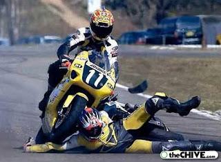 FotoUnik Kecelakaan Di Dunia olahraga..