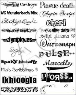 Kumpulan Font Keren terlengkap - Aziscs1.CoM