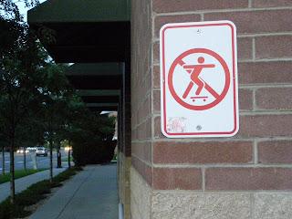 skating sign