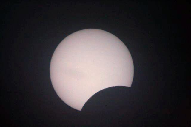 Solar Eclipse Aug 1 2008, 10.14am