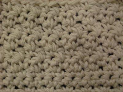 Understanding Crochet Directions - Close Look Photo - Double