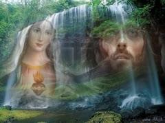 A Paz de Jesus e  o Amor de  Maria