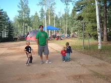 Andy and the kids Duck Creek 2008