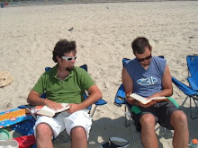 Tyler and Ben actually reading books..