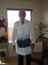 Jerry with his New Apron