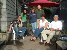 With Jer's family in Oregon
