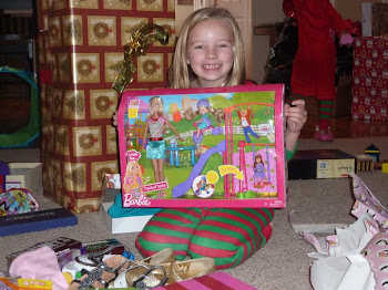 Tes and her great smile at Christmas
