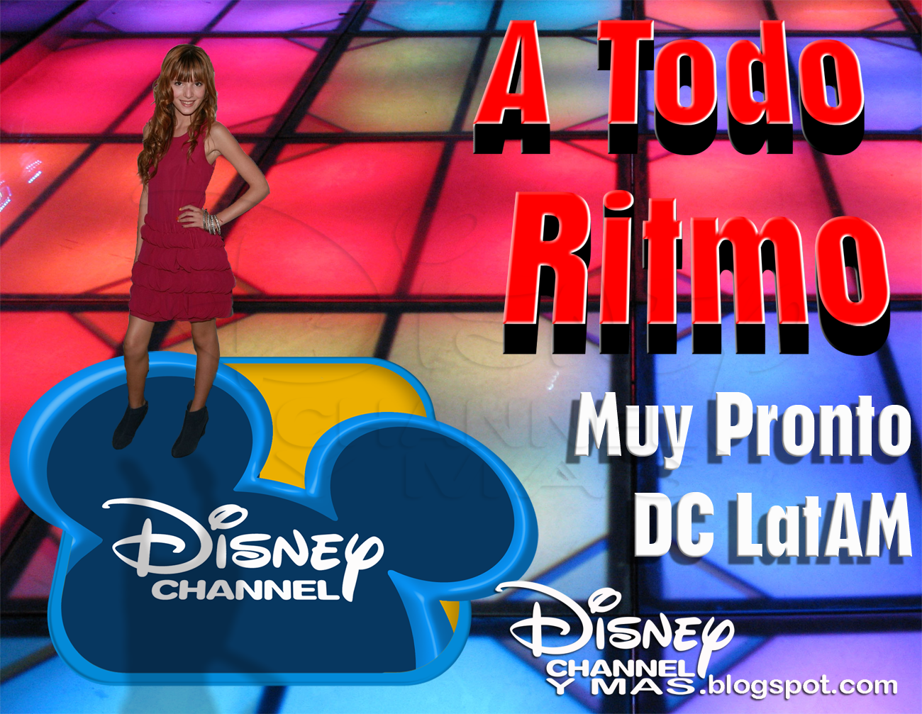 Disney Channel y Más...: A TODO RITMO (Shake It Up) Promo ...