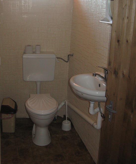 санитарният възел: