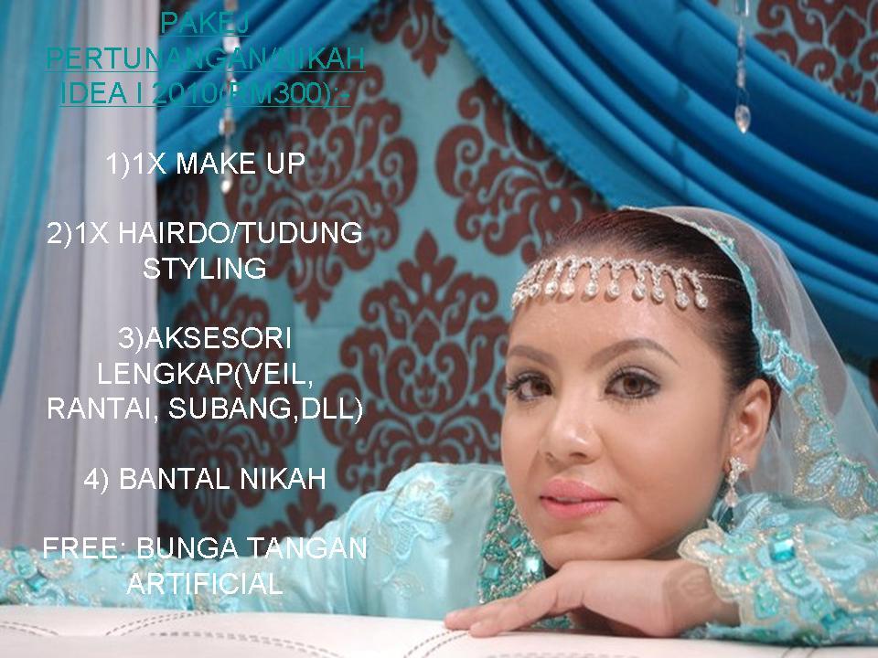 PAKEJ TUNANG/NIKAH RM300