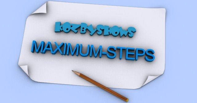 MAXIMUM-STEPS