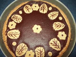 crostata morbida cioccolato e frutti di bosco.....