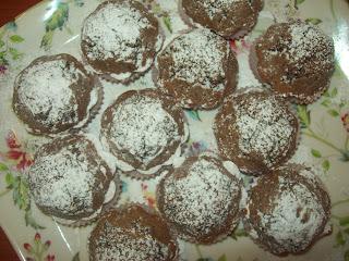 muffin  ciocco-pera e muffin ciocco-arancia!!!!per tutti i gusti!