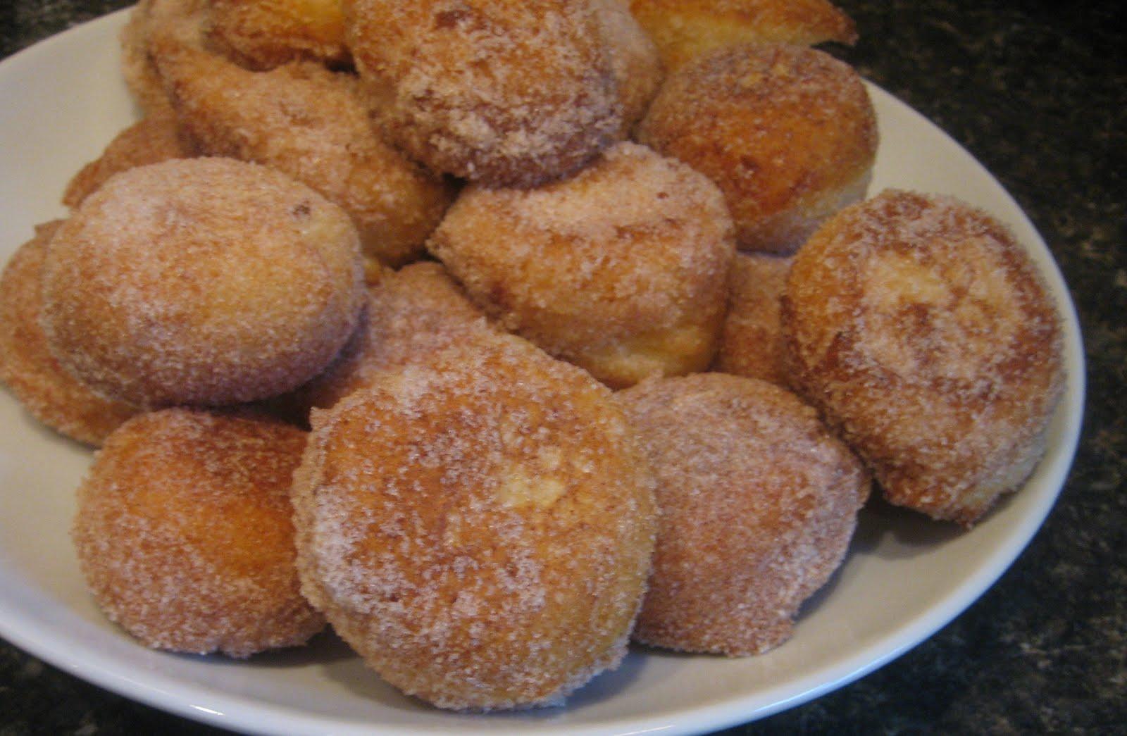 Sprinkle with Salt: lemon ricotta fritters