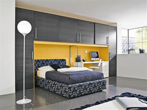 Uzumaki interior design modern fantastic colour kids bedroom for Modern children bedroom designs