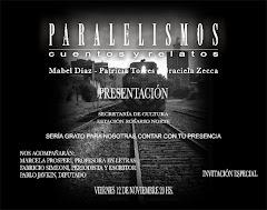 """Presentacion del Libro """"Paralelismos"""""""